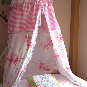 Bed Canopy - Play Tent - Kids Tent Canopy - Hanging Canopy - Reading Nook - & Kids Tent Canopy - Play Tent - Bed Canopy from ScarlettsCozyCotta