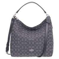 Coach Outline Signature Celeste Hobo Shoulder Crossbody Bag Purse Handbag