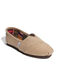 Women's TOMS Burlap Slip-On,