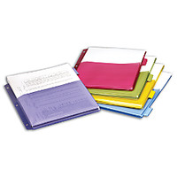 Office Depot Brand Expanding Index Dividers 5 Tabs Assorted Pack Of 5 by Office Depot