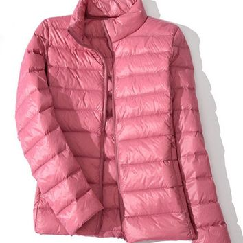Casual Women Down Jackets