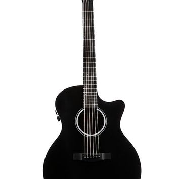 Martin - GPCPA5BK PA Series GPC-14 Fret Cutaway Acoustic Guitar - Black and more 6 String Acoustic Guitars At Cascio Interstate Music