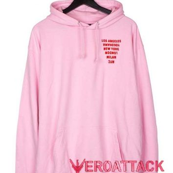 Country Of Dream Light Pink color Hoodies