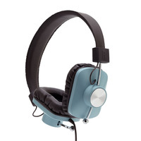 Eskuche: Control v2 Headphones - Baby Blue / Brown
