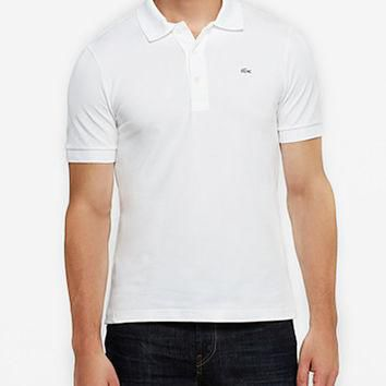 Men's Lacoste White Polo Shirt