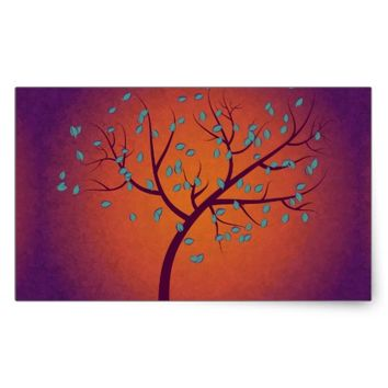 Tree of Life Rectangular Sticker