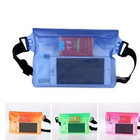 Waterproof Bag with Waist Strap for Beach Boating Kayaking Waist Pack