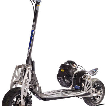 50cc UberScoot Rx Gas Powered Scooter by Evo Powerboards, 2-Stroke EPA Approved Engine