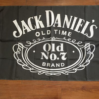 Happy Hour 90x150cm Jack Daniels whiskey bar flag decoration digital printing free shipping Buckle