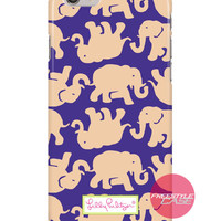 Lilly Pulitzer Tusk in Sun Gold iPhone Samsung Case Series