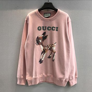 GUCCI sweatshirt with fawn