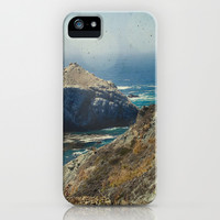 Big Sur - Prolific Monolithic Fantastic iPhone & iPod Case by Jenndalyn