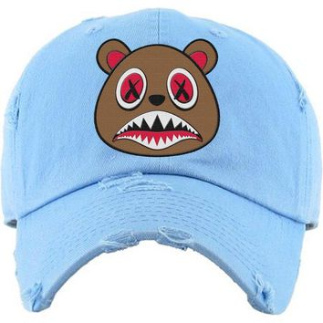 Cinnamon Baws Carolina UNC Dad Hat