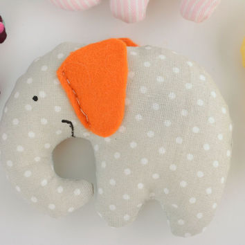 Flavored handmade soft toy elephant stuffed designer's flavored doll kids gift