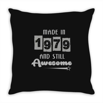 made in 1979 and still awesome Throw Pillow