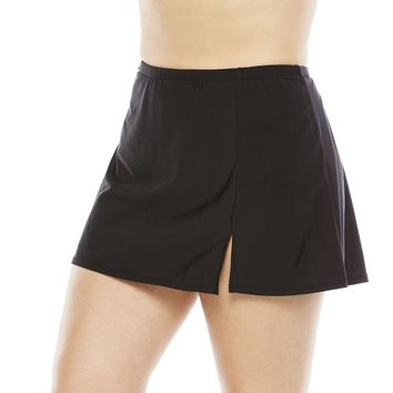 Upstream Tummy Slimmer Skirtini Bottoms - Women's Plus, Size: