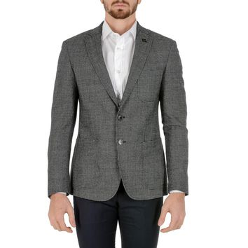 Hugo Boss Mens Jacket Long Sleeves Grey RAYE