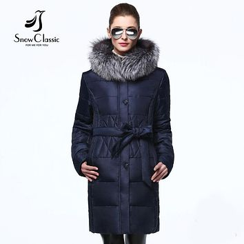 Jacket Women coats with Sashes women winter jackets and coats