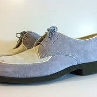 Women'sTwo Toned Suede Shoes Free Shipping