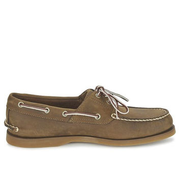 Timberland Gaucho Roughcut- Brown Boat Shoe