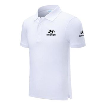 High Quality Design New Hyundai Logo Custom Men and Women Polo Shirts Plus Size Polo Shirt Men Clothing
