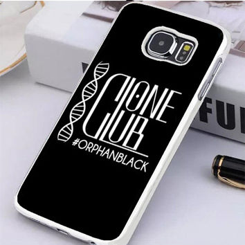 Orphan Black Clone Club Samsung Galaxy S6 Edge Case  Dollarscase.com