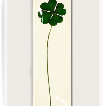 Lucky, Lucky Clover Decoupage Glass Tray
