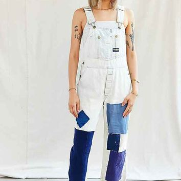 Urban Renewal Recycled French Workwear Patched Overall