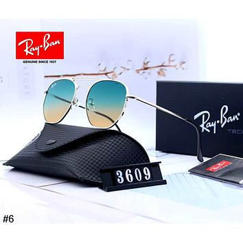 Ray-Ban tide brand men and women driving polarized color film sunglasses #6