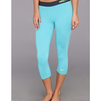 Nike Pro Core II Compression Capri Fusion Red/Summit White - Zappos.com Free Shipping BOTH Ways