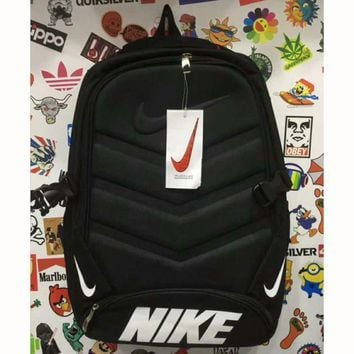 PEAPUF3 Nike' Sport Travel Backpack College School Bag Laptop Bag Bookbag G-A-XYCL