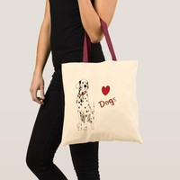 Love Dogs Budget Tote