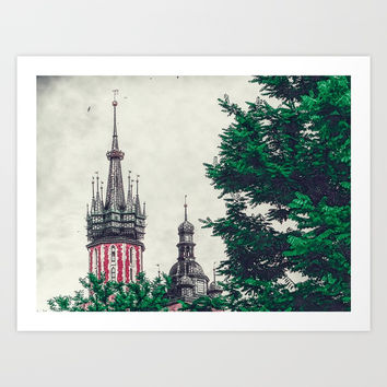 Cracow church Art Print by jbjart