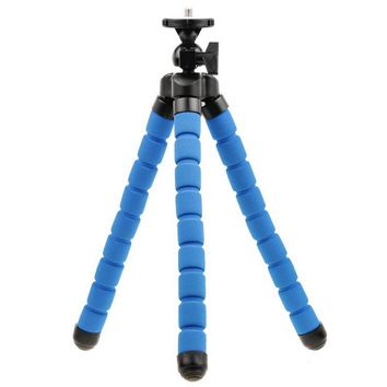 Portable Phone Holder Digital Camera Flexible Octopus Leg Tripod Bracket Stand Adapter Mount Monopod Bubble For Mobile
