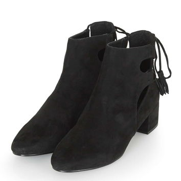 KIMBLE Back Ghillie Shoe Boots - Topshop