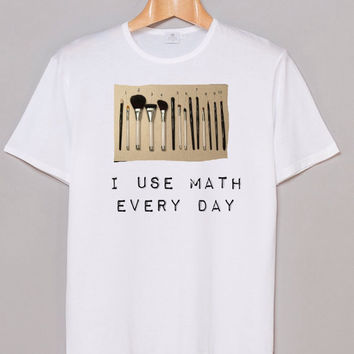 Makeup Brushes Tumbler Shirt  Hipster