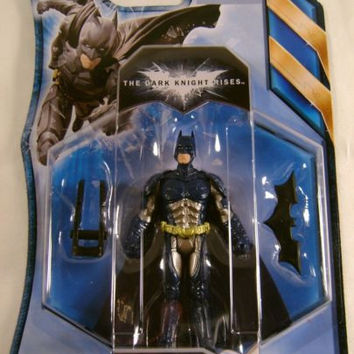 Batman The Dark Knight Rises Stealth Vision Mislabel Blue DC Comic Mattel Figure