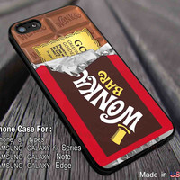 Golden Ticket Chocolate Bar | Willy Wonka Bar | Wonka Bar Case/cover for iPhone 4/4s/5/5c/6/6+/6s/6s+ Samsung Galaxy S4/S5/S6/Edge/Edge+ NOTE 3/4/5 #cartoon #movie ii