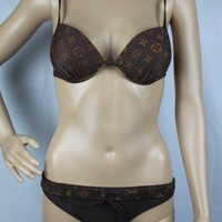 LV Louis Vuitton Bikini Set Swimsuit Swimwear