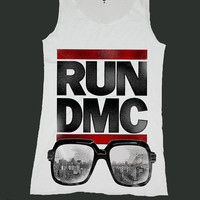 RUN DMC singlet screen print tank top ety58v