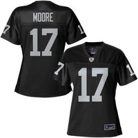 Pro Line Women's Oakland Raiders Denarius Moore Team Color Jersey
