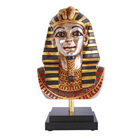 Park Avenue Collection Egyptian King Tutankhamen Bust On Mount
