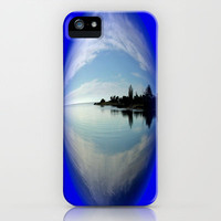 Fossils` Bluff iPhone & iPod Case by Chris Chalk