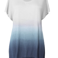 Cupshe Quick Glimpse Of Gradient Color Long Top