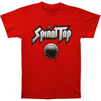 Spinal Tap Men's  One Louder Than Ten T-shirt Red Rockabilia