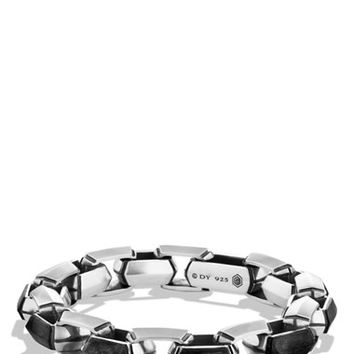 Men's David Yurman 'Forged Carbon' Link Bracelet