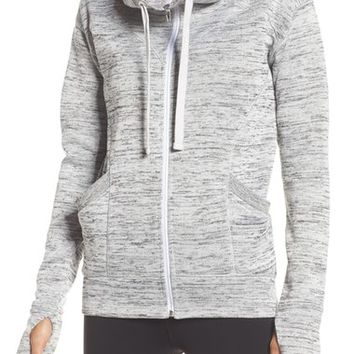 Zella 'Cozy to the Core' Sweater Jacket | Nordstrom