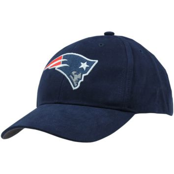 47 Brand New England Patriots Youth Basic Team Logo Adjustable Hat - Navy Blue - http://www.shareasale.com/m-pr.cfm?merchantID=7124&userID=1042934&productID=555884196 / New England Patriots