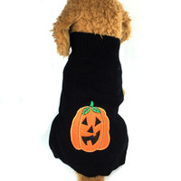Halloween Black Dog Sweater