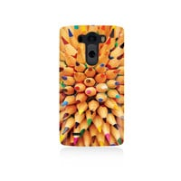 Artists Pencils Cover LG G3 Case, LGG3 cover